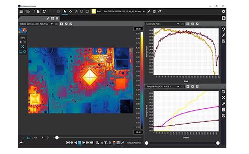 FLIR Thermal Studio软件如何分析红外热图数据?